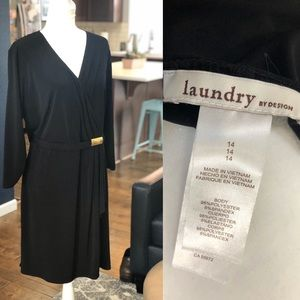 Laundry by design black dress